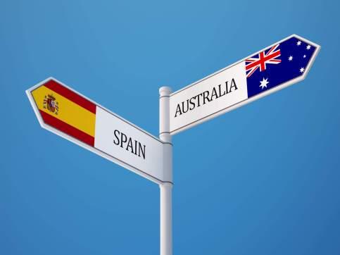 Spain-Australia-Street-sign